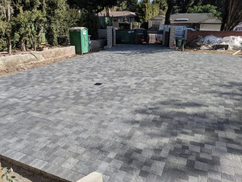 Ackerstone Pewter Charcoal Driveway