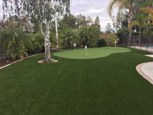 Artificial Turf: 96oz