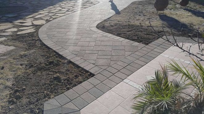 Circles: Belgard Catalina Bella Walkway Pavers