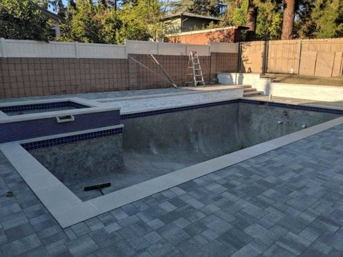 Custom Concrete Pool Coping