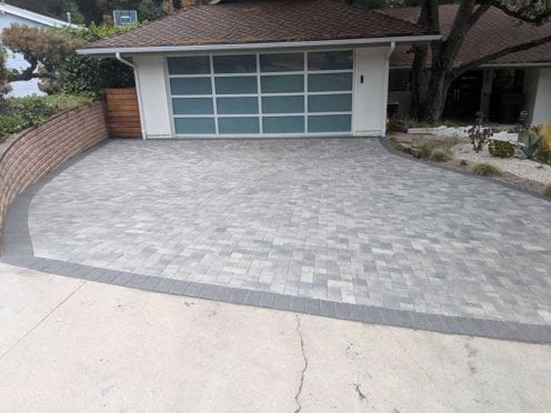 Gray Charcoal Holland Driveway