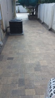 Angelus Slate Stone Pavers in Sand Stone Mocha Color