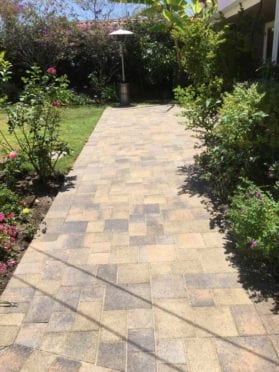 Angelus Tuscan and Sand Stone Mocha Pavers