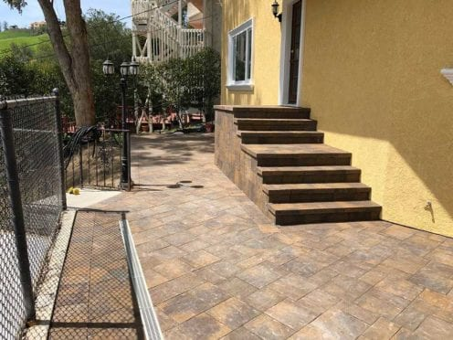 Steps: Toscana 6x9 Pavers Used for Steps